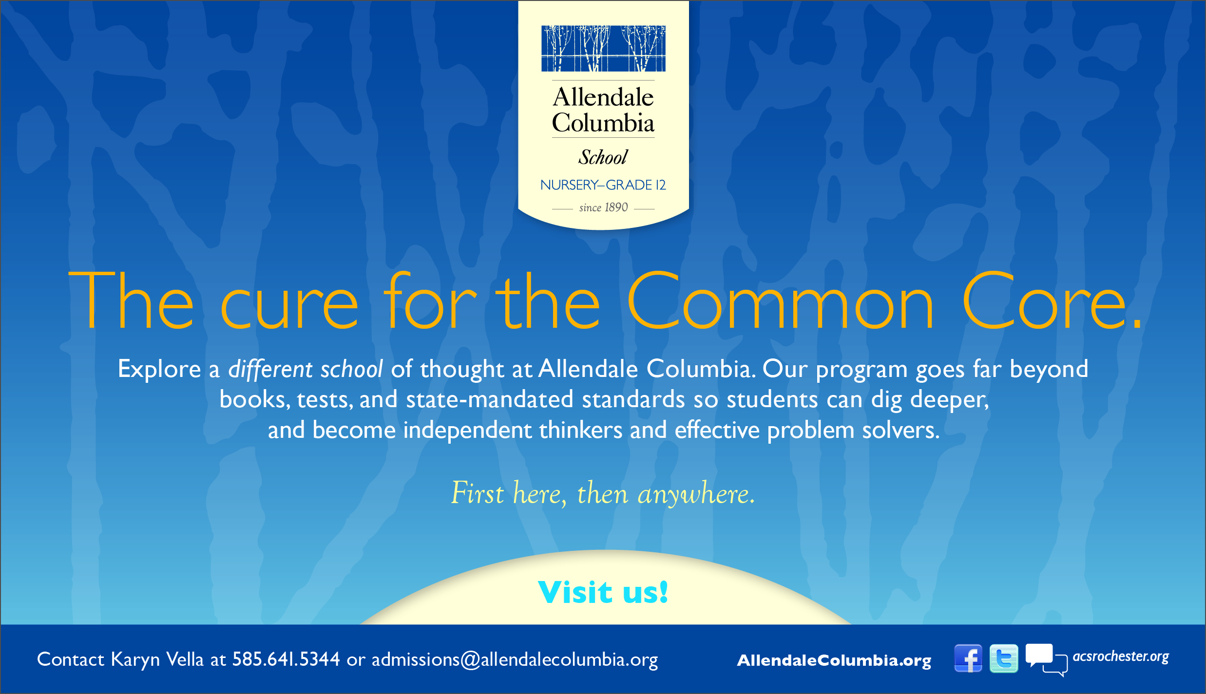 Rochester's Cure for the Common Core